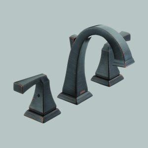 Two Handle Widespread Venetian Bronze