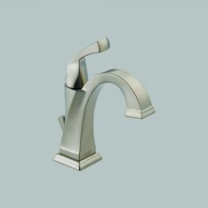 Single Handle Centerset Brilliance Stainless