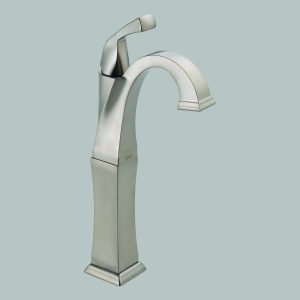 Single Handle Centerset with Riser Brilliance Stainless