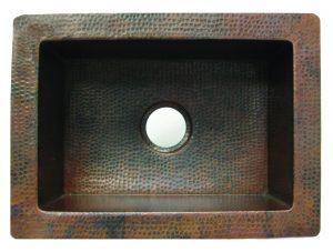 Copper Bar/Prep Sink - 16 guage
