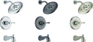 T14497-LHP: Chrome Tub & Shower Trim
