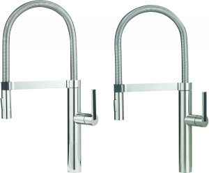 Chrome Semi Professional Kitchen Faucet