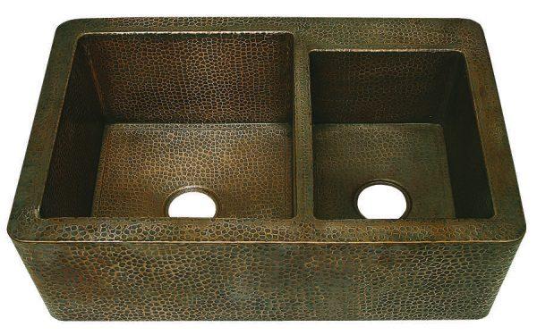 Wholesale Farmhouse Sinks : farmhouse 60 40 with apron sinks copper farmhouse 60 40 kitchen sink ...