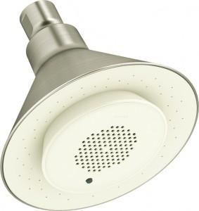 Kohler Moxie Showerhead with Single Function - Brushed Nickel