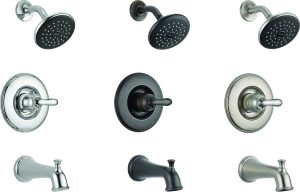 T14478-LHP: Chrome Tub & Shower Trim