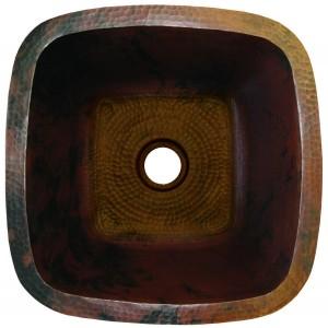 """15"""" SBV Copper Bar Sink - 18 guage"""