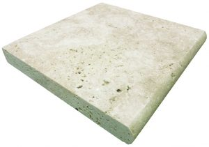 Ivory Travertine - Single Bullnose Coping