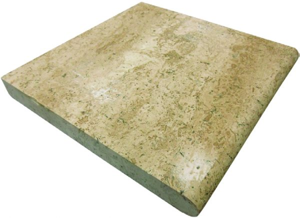 Noche Travertine – Single Bullnose Coping