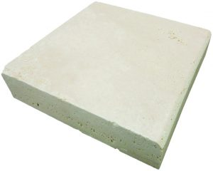 Ivory Travertine - Tumbled Edge Coping