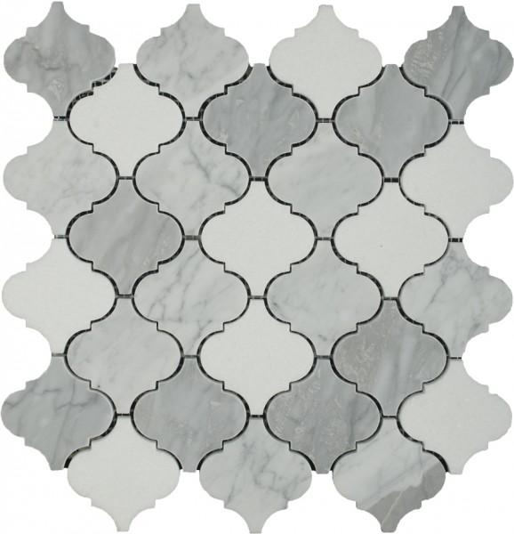 Arctic Blend Damask Pattern