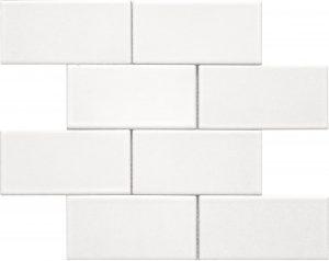 3x6 White Brick