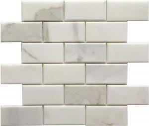 2x4 Calacutta Bevel Brick