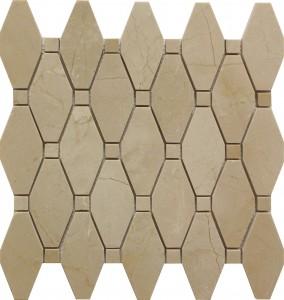 Alexandria Pattern Crema Marfil