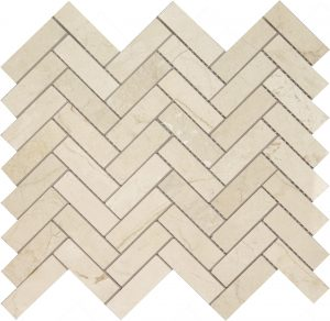 Long Crema Marfil Herringbone