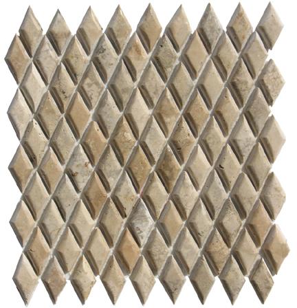 1×2 Rhomboid Cushion-Tuscan Storm