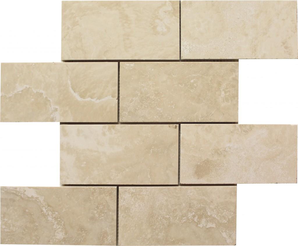 Ivory subway tile