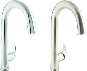 Polished Chrome Kitchen Series Pull Down