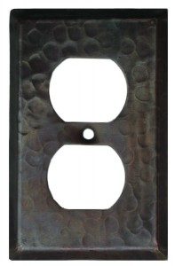 Single Socket Copper Plate Cover