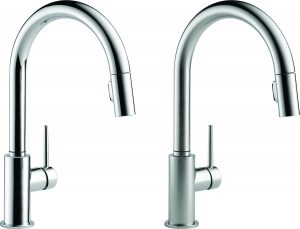 Chrome Kitchen Series Pull Down with Touch 20