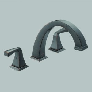 Roman Tub Trim (Includes Handles) Venetian Bronze