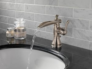 Single Handle with Channel Spout Brilliance Stainless