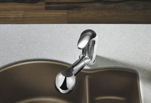 Chrome Semi Professional Kitchen Faucet