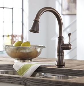 Venetian Bronze Kitchen Series Pull Down with Touch 20