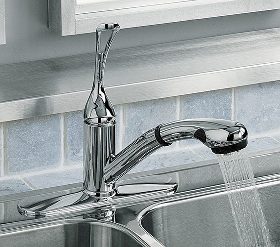 Polished Chrome Kitchen Series Pull Out