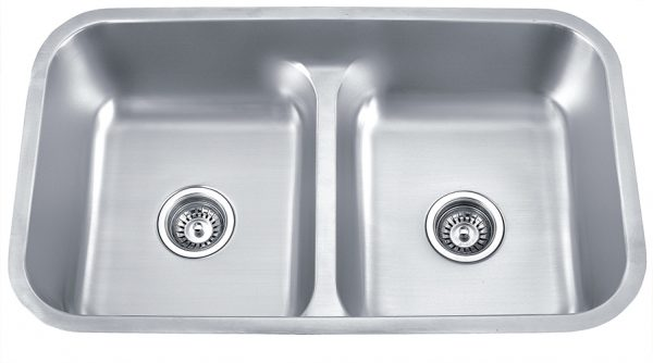 Soci Solido 50/50 Low Divide 18 Gauge Sink