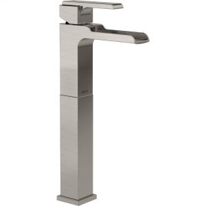 Ara Single Handle with Riser and Channel Spout Brilliance Stainless