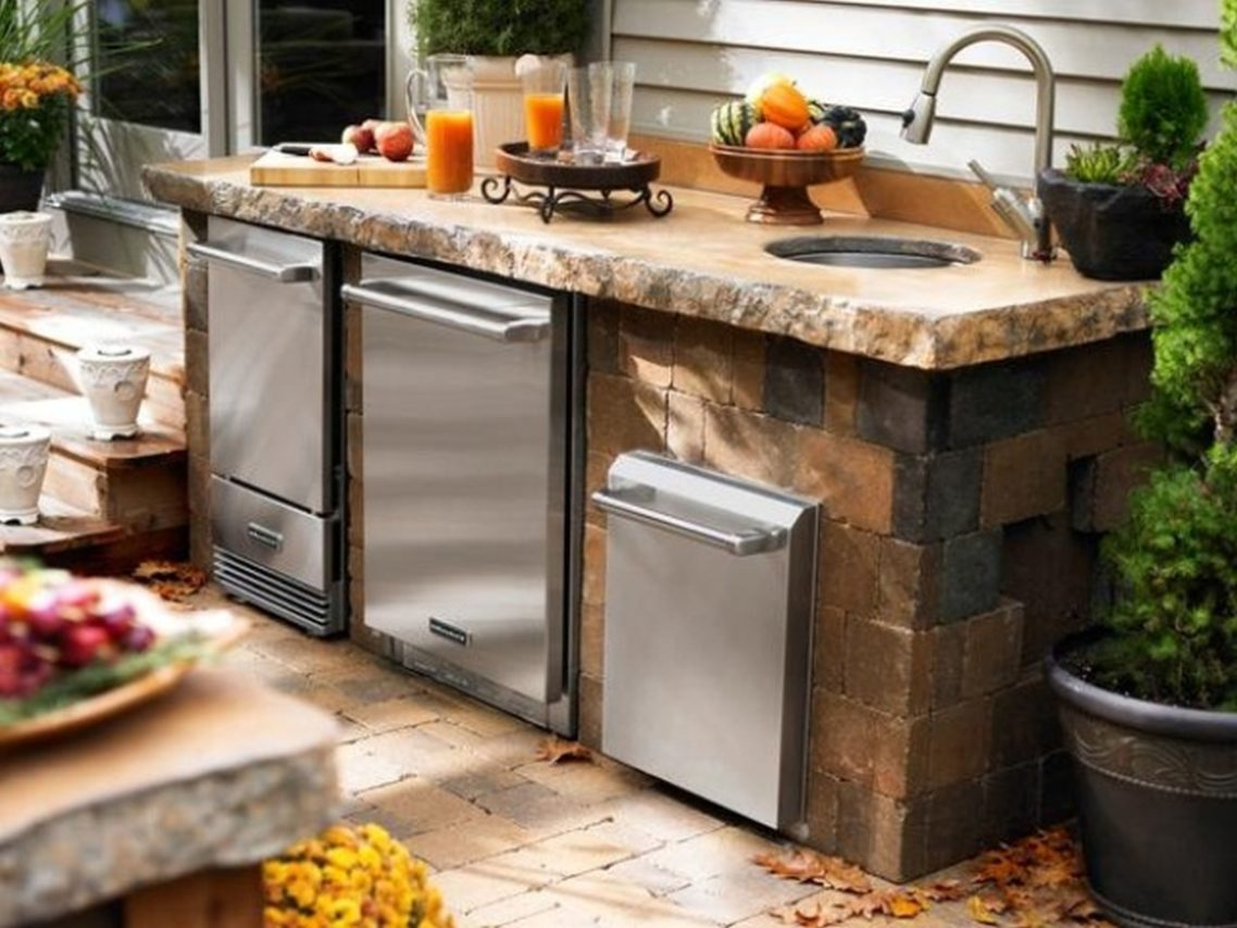 outdoor kitchen backsplash ideas kitchen backsplash ideas black