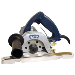 "Alpha Wet Stone Cutter 5"" 110V"