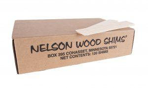 "Nelson 8"" White Pine Shims"