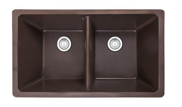 Athos 50-50 Sink – ChestnutR