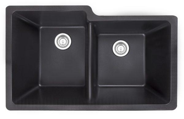 Athos 60-40 Sink – Carbon